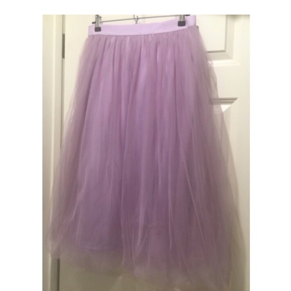 619283d0a6 See You Monday Skirts | Nwt Lavender Tulle Midi Skirt | Poshmark